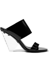 Plastic sandals Balmain