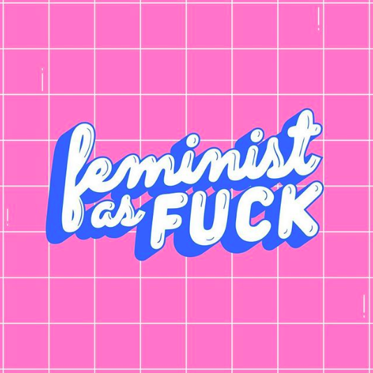 illustrator Lucia Picerno - feminist as fuck