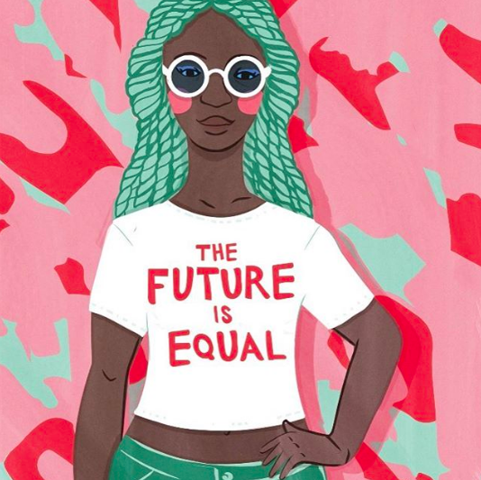 illustrator Lucia Picerno - the future is equal