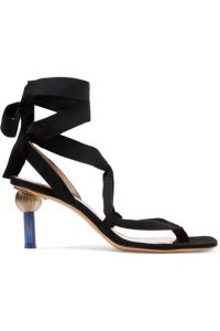 Sculptered heels Jacquemus