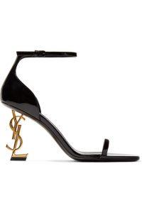 Sculptered heels Saint Laurent