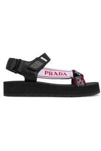 Sporty sandals Prada