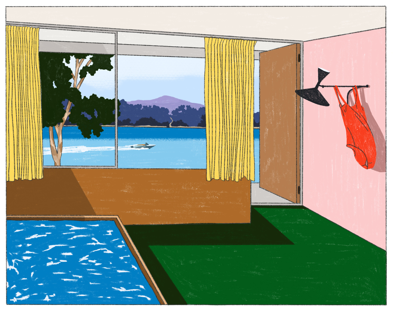 Illustrator Maaike Canne - Resort Corbusier