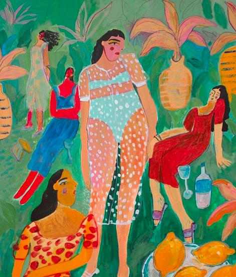 Illustrator Ana Leovy