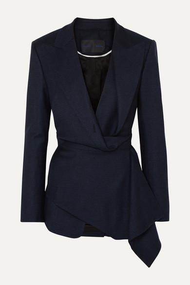 pantone color of the year wrap blazer