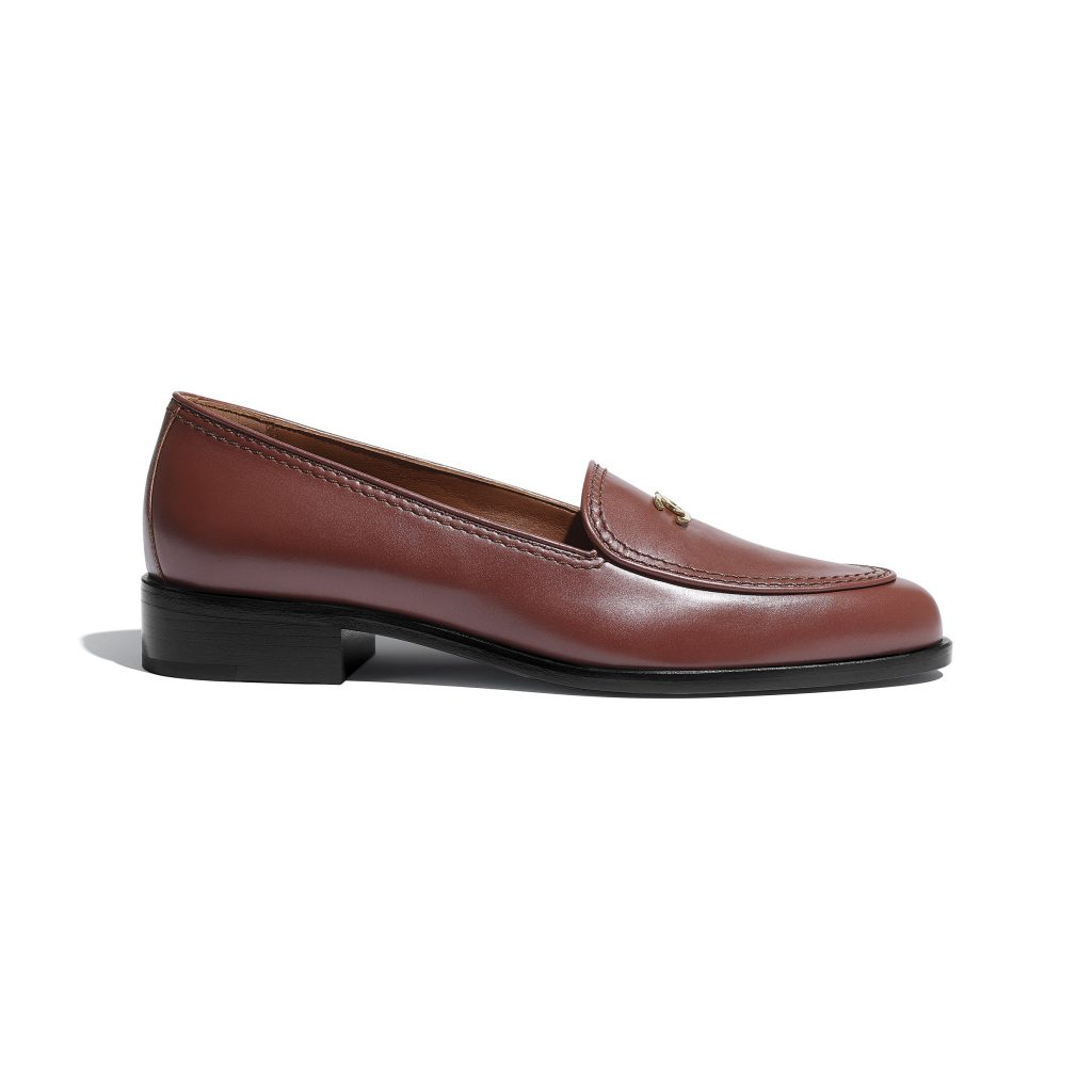 Brown Loafers chanel