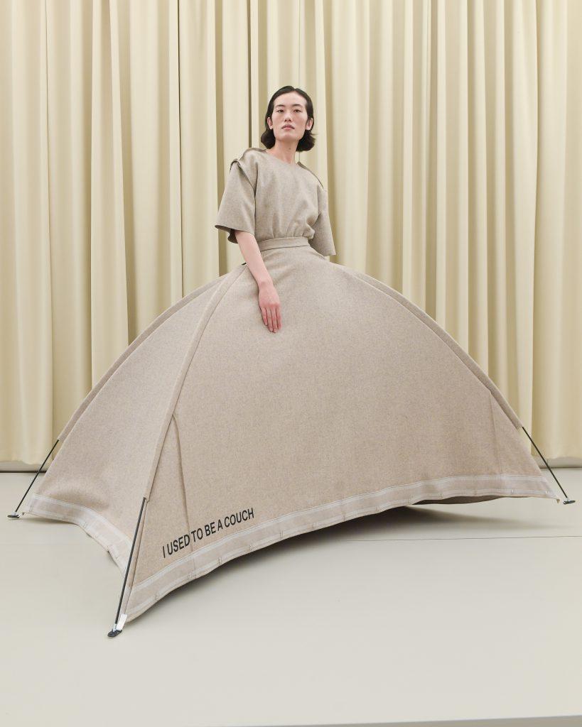 designers remix dress during copenhagen fashion week