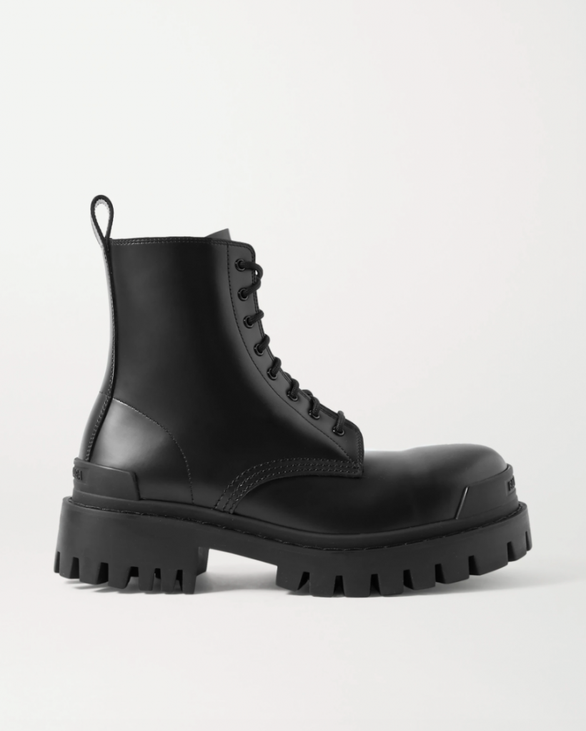 Combat boots balenciaga