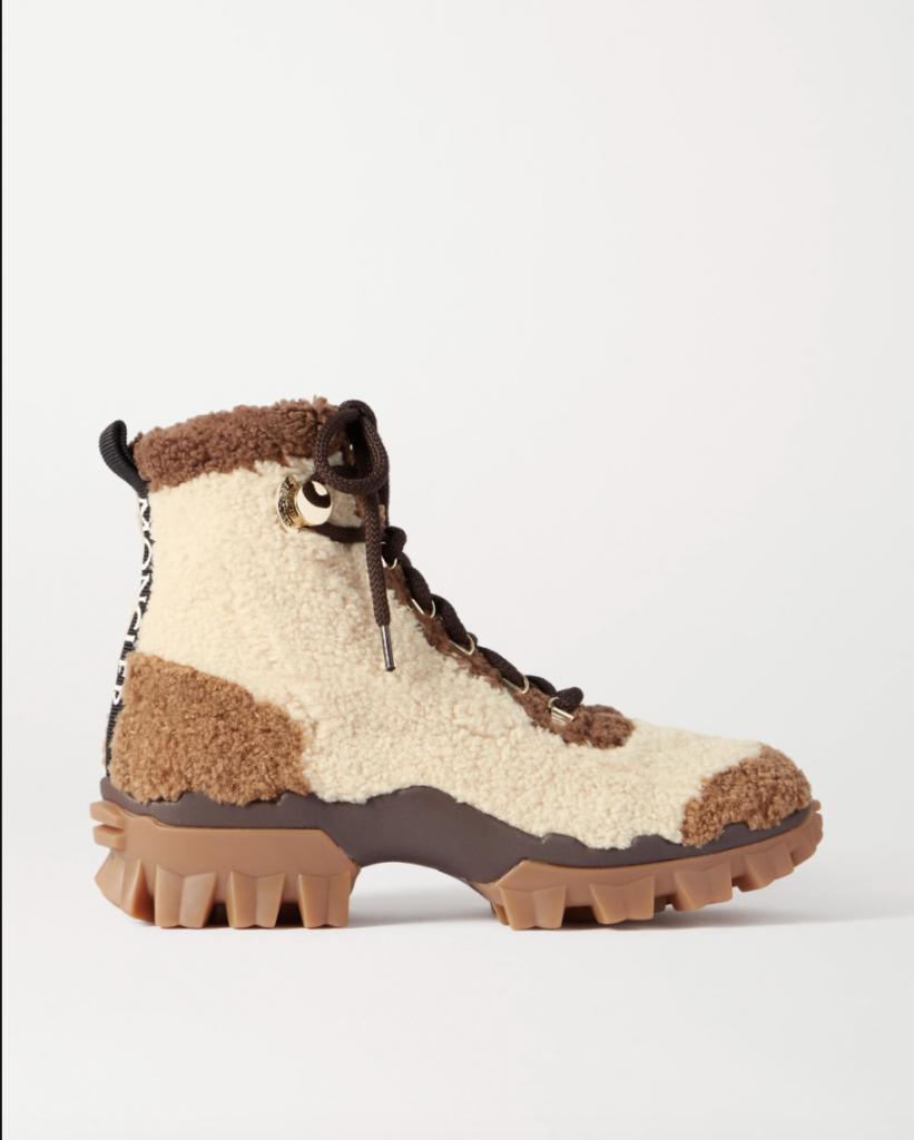Combat boots Moncler
