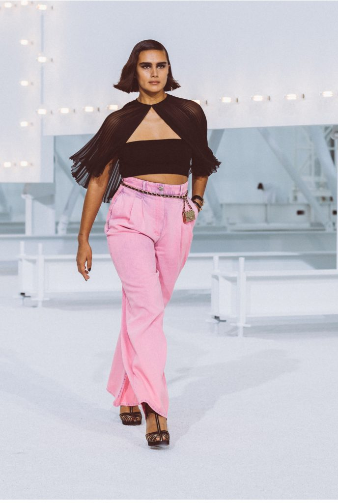 look 24 chanel spring/summer 2021 fashion trends 2021